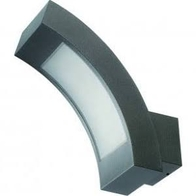 NiteLED Wall Curve 3.6w LED Wall Light Black JC39409