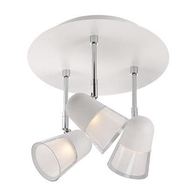 Nordlux Arles LED 3 x 3w Ceiling Plate in White 63280001
