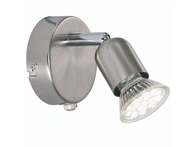 Nordlux Avenue LED 3w Wall Light Brushed Steel 76551132