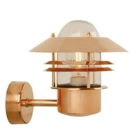 Nordlux Blokhus Copper Outdoor Wall Light 25011030