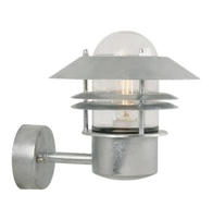 Nordlux Blokhus Galvanized Steel Outdoor Wall Light 25011031