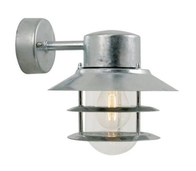 Nordlux Blokhus Galvanized Steel Outdoor Wall Light 25051031