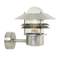 Nordlux Blokhus Stainless Steel Outdoor Wall Light 25011034
