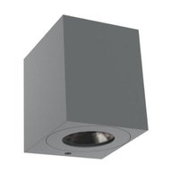Nordlux CANTO Kubi 2 Grey Outdoor Wall Light 711010