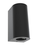 Nordlux CANTO Maxi 2 Black Outdoor Wall Light 49721003
