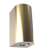 Nordlux CANTO Maxi 2 Brass Outdoor Wall Light 49721035