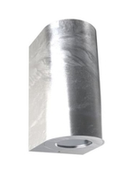 Nordlux CANTO Maxi 2 Galvanized Steel Outdoor Wall Light 721031