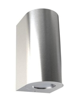 Nordlux CANTO Maxi 2 Stainless Steel Outdoor Wall Light 721034