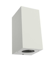 Nordlux CANTO Maxi Kubi 2 White Outdoor Wall Light 731001