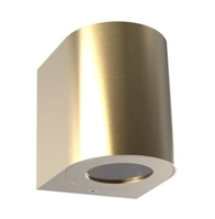 Nordlux CANTO2 Brass Outdoor Wall Light 701035