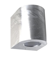 Nordlux CANTO2 Galvanized Outdoor Wall Light 701031