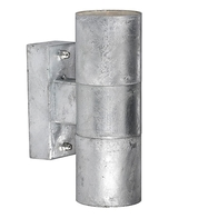 Nordlux Castor Galvanised Up/Down Wall Light 71369931