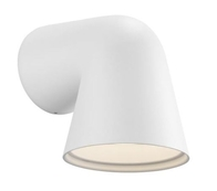 Nordlux Front Single White Outdoor Wall Light 46801001