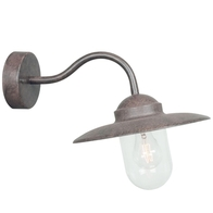 Nordlux Luxembourg Rusty Garden Wall Light 22671009