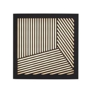 Nordlux Maze Straight Black Outdoor Wall Light 46871003