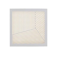 Nordlux Maze Straight White Outdoor Wall Light 46871001