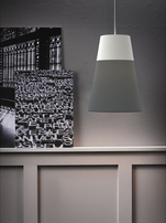Nordlux Respect 22 Black & White Lamp Shade 76973203