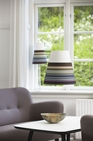Nordlux Respect 22 Multi Colour Striped Lamp Shade 76973209