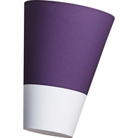Nordlux Respect 22 Purple & White Lamp Shade 76973207