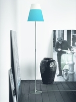 Nordlux Respect 30 Blue & White Lamp Shade 76983206