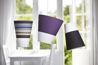 Nordlux Respect 30 Purple & White Lamp Shade 76983207