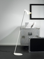 Nordlux Vanila Adjustable White Floor Lamp 72704001