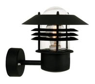 Nordlux Vejers Black Outdoor Wall Light 25091003