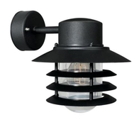 Nordlux Vejers Black Outdoor Wall Light 74471003