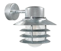 Nordlux Vejers Galvanized Steel Outdoor Wall Light 74461031