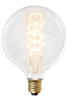 NUD Collection 125mm ES 40W Globe Filament Lamp