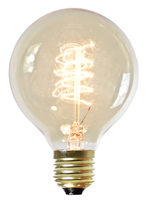 NUD Collection 80mm ES 25W Globe Filament Lamp