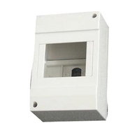 Europa Components PVC 2 Way Enclosure IP20 EC2