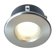 Robus Downlight 240V IP65 Brushed Chrome 240v RS10165GZ-13