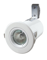 Robus Fire Rated Downlight Fixed GU10 White RSF201-01