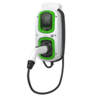 Rolec WallPod EV-Tethered Lead SuperFast Charger 18th Edition Type 2 16A 11kW 3Phase EVWP2096