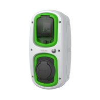 Rolec WallPod EV-Socket Charger 18th Edition 32A 7.2kW EVWP2020-WHI-GREEN