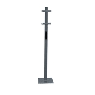 Rolec WallPod Ground Mounting Post EVFP0020