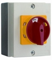 Europa LB204P Rotary Isolator Switch 20A 4 Pole IP65 Rated