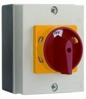 Rotary Isolator Switch 125A 6 Pole IP65 Rated