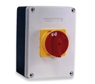 Rotary Isolator Switch 63A 4 Pole IP65 Rated