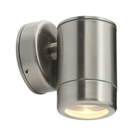 Saxby Oddysey Wall Light 35w GU10 Brushed Stainless ST5009SS