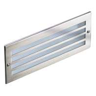 Saxby Outdoor Brick Light in Stainless Steel 10515