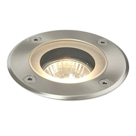 Saxby Pillar Round GU10 Ground Light 52212