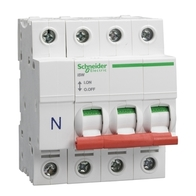 Schneider Electric LoadCentre 125A 3 Pole & Neutral Switch Disconnector SE125SW3L