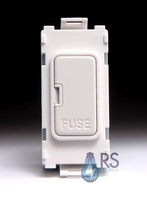 Schneider Ultimate 13A Fuse Carrier Grid Module White Metal GUG13FCUWPW