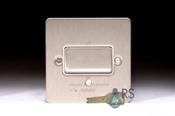 Schneider Flat Plate Fan Isolator Switch Stainless Steel GU1213WSS