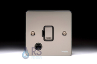 Schneider Flat Plate GU5203BBN Unswitched with Flex Outlet