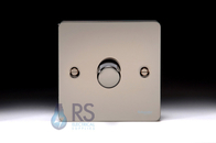 Schneider Flat Plate LED Dimmer Switch Black Nickel GU6212LBN