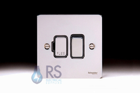 Schneider Flat Plate Switched Spur Polished Chrome GU5210BPC
