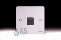 Schneider Flat Plate RJ11 Socket Polished Chrome GU7251BPC